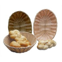 Woven polypropylene bread baskets