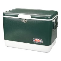 54qt Green Steel belted cooler