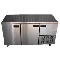 Underbar fridge stainless steel doors
