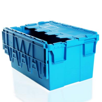 Hinged lid container 55 litre