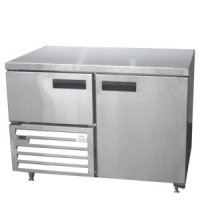 Underbar fridge stainless steel swing door