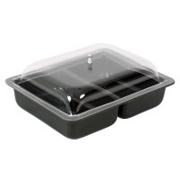 DELI DISH DOME LID - 320x260mm