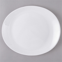 Oval steak plate 30x26cm