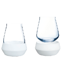 2pc Soft stemless whiskey/wine