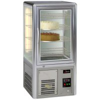 Salvadore cake display fridge