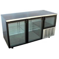 Underbar fridge glass doors