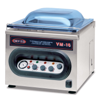 Orved vacuum pack machine - VM16