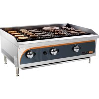 Radiant gas griller 900mm