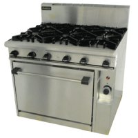 Brandon gas range - 6 burner