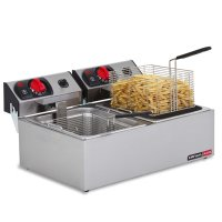 ANVIL DEEP FAT FRYER - DOUBLE PAN (ELEC)