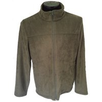 Men's fleece long sleeve olive