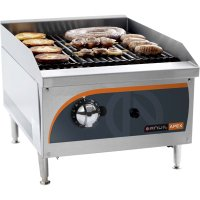 Radiant gas griller 400mm