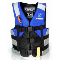 Level 50 Nylon Personal Flotation Device - Blue/Grey
