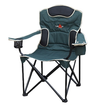 Camping director's chair comfort
