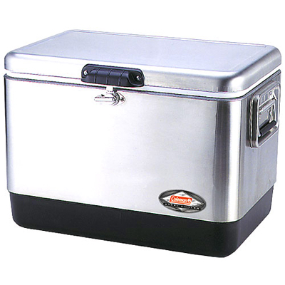 Stainless steel cooler 54qt