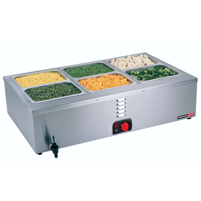 BAIN MARIE TABLE TOP - 3 DIVISION