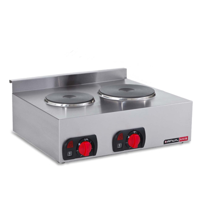 Anvil cooker 2 plate - countertop