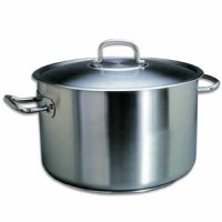 Infiniti stainless steel casserole pot
