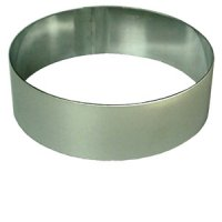 Cake ring round - Stainless steel